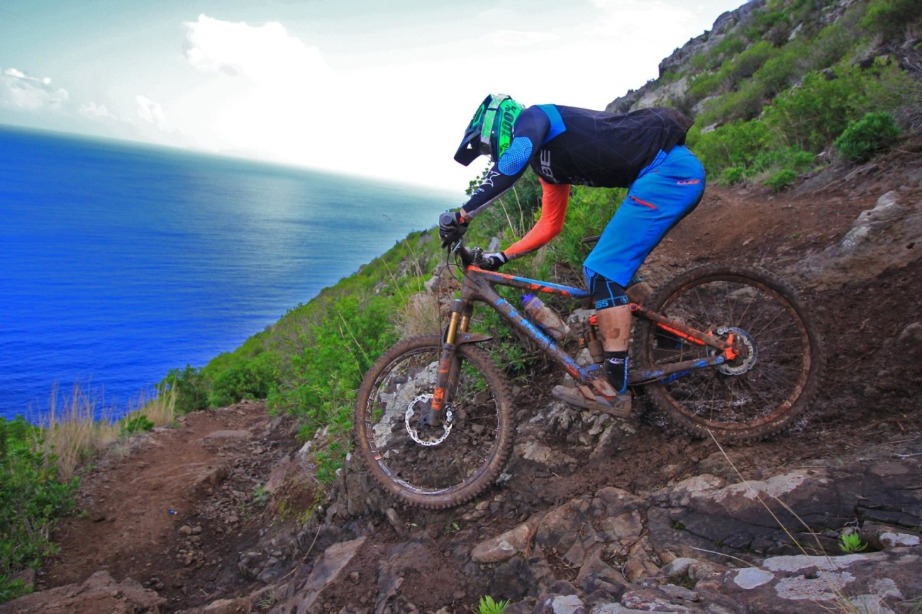 How's that for a mountain biking paradise?